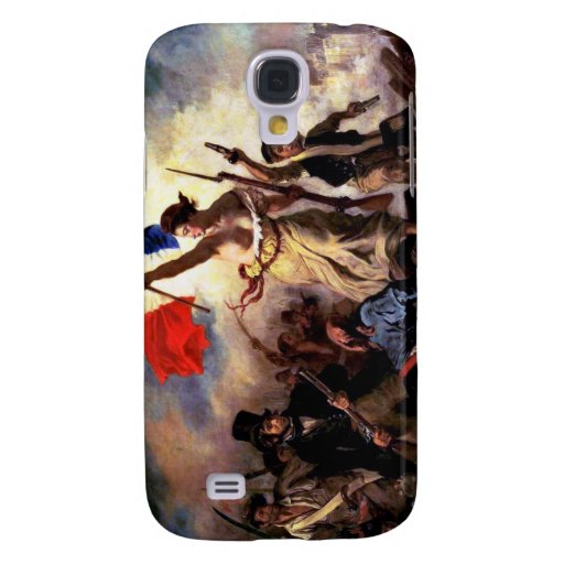 Liberty Leading the People Galaxy S4 Cover