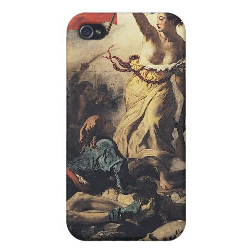 Liberty Leading the People Cover For iPhone 4