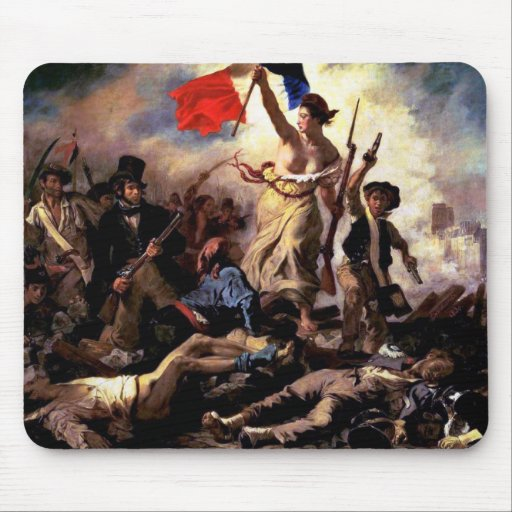 Liberty Leading the People Mouse Pads