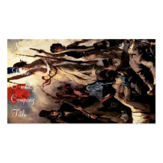 'Liberty Leading the People'' Pack Of Standard Business Cards