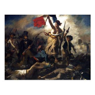 Liberty Leading the People Postcard