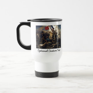 Liberty Leading the People Stainless Steel Travel Mug