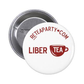 Liberty Libertea Tea Party Button