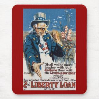 Liberty Loans World War 2 Mouse Pad
