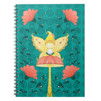 liberty magic fairy spiral notebook