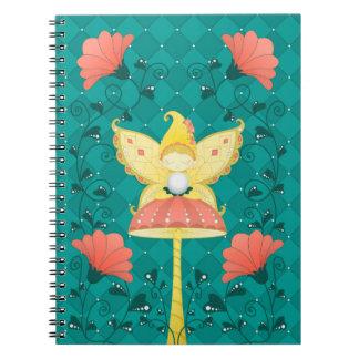 liberty magic fairy spiral notebooks