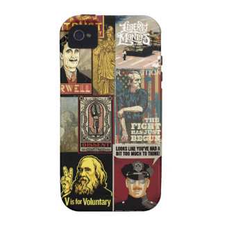 Liberty Maniacs McCall Poster Collage iPhone 4 Covers