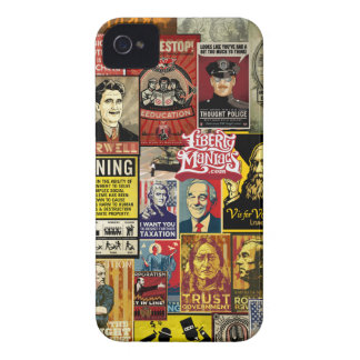 Liberty Maniacs Poster Collage Cases iPhone 4 Case-Mate Case