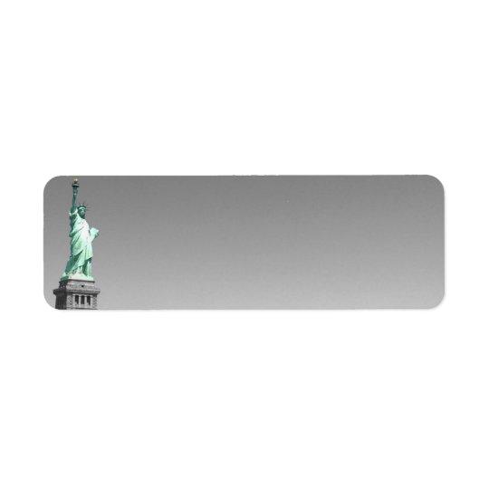 Liberty On the Go Return Address Label