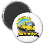 Liberty On Tour Refrigerator Magnets