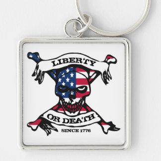 Liberty or Death Keychain