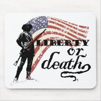 Liberty or Death Minutemen Mouse Mat