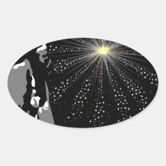 Liberty Oval Sticker
