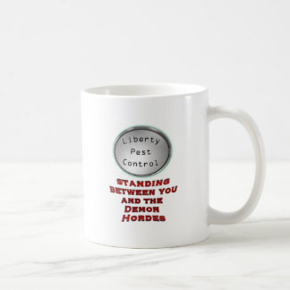 liberty pest control coffee mug