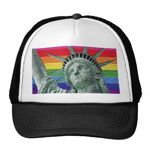 Liberty Pride Mesh Hat