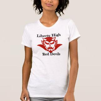 Liberty Red Devil Ladies T-shirt