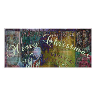 Liberty Reflection Christmas Bookmark Rack Cards