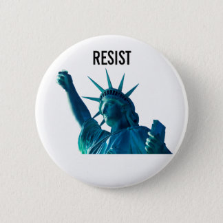 Liberty Resists 6 Cm Round Badge
