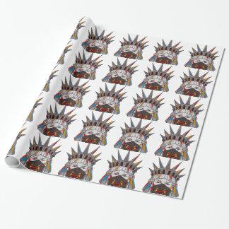 Liberty Samurai Wrapping Paper