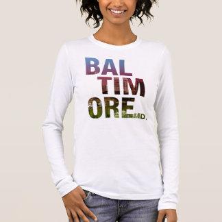Liberty Series - Baltimore Type Long Sleeve T-Shirt