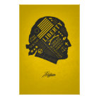 LIBERTY SERIES - Thomas Jefferson Abstract Thought Poster