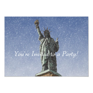 Liberty Snow 13 Cm X 18 Cm Invitation Card