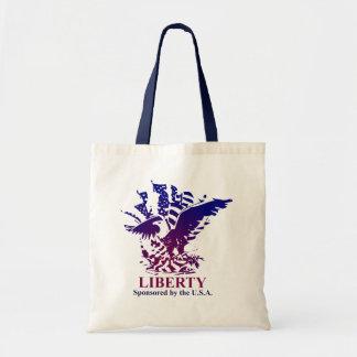 Liberty sponsored by USA Tote Bag