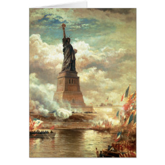 Liberty Standing Tall Greeting Card