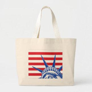 Liberty Statue Face Bag