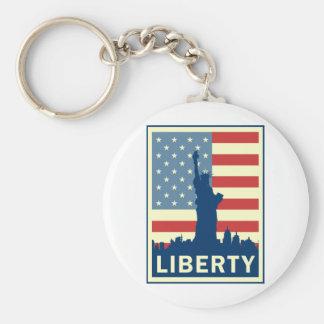Liberty (Statue) Keychain