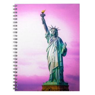 Liberty Statue New York Notizbuch