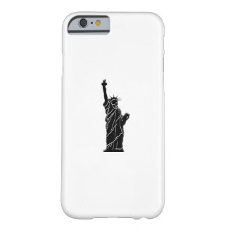 liberty statue photo on case