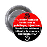 liberty without socialism button