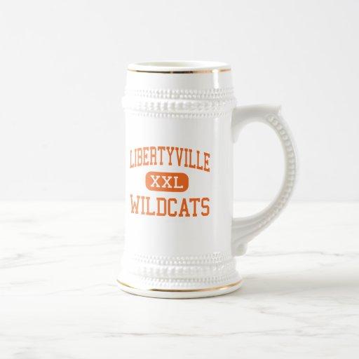 Libertyville - Wildcats - High - Libertyville Coffee Mugs
