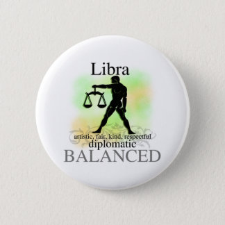Libra About You 6 Cm Round Badge