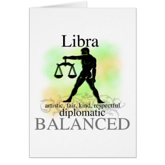Libra About You Greeting Card