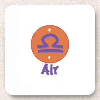 Libra  Air Drink Coasters