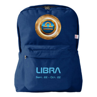 Libra Astrological Sign Backpack