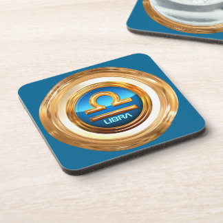 Libra Astrological Sign Drink Coasters
