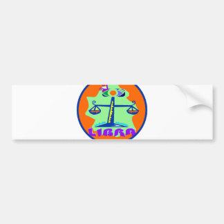 Libra Badge Bumper Sticker