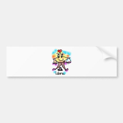 libra bumper stickers
