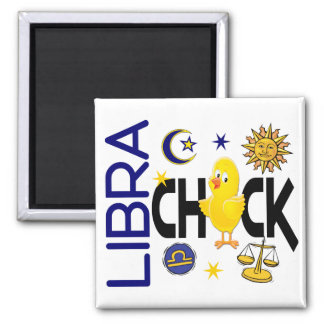 Libra Chick 1 Refrigerator Magnet