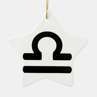 Libra. Christmas Ornament