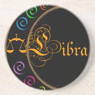 Libra Beverage Coaster