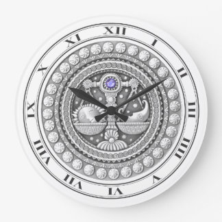 Libra Coin Wall Clock