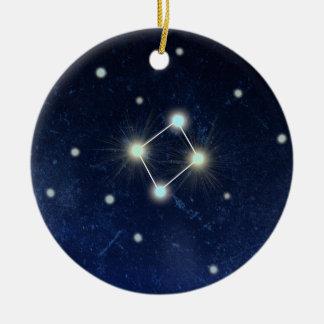 Libra Constellation | Custom Name Christmas Ornament