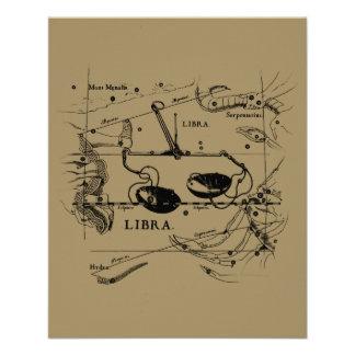 Libra Constellation Hevelius 1690 Sept23 - Oct22 Custom Flyer
