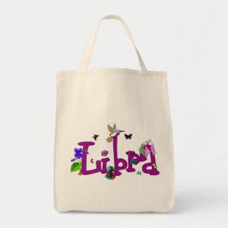 Libra Flowers Tote Bags