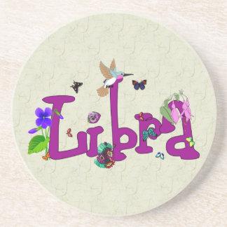 Libra Flowers Coaster