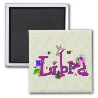 Libra Flowers Refrigerator Magnets